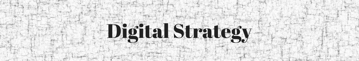 Image of  Digital Strategy